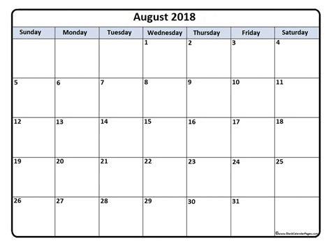 printable calendar 2018 in color august 2018 calendar august 2018 calendar printable