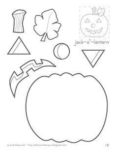printable jack o lantern craft kids halloween activities festival collections