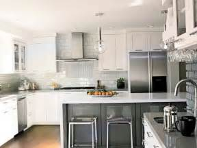 Modern Backsplash Kitchen Modern Kitchen Backsplash White Cabinets Home Design Ideas