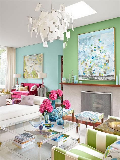 inside richardson s colorful home hgtv