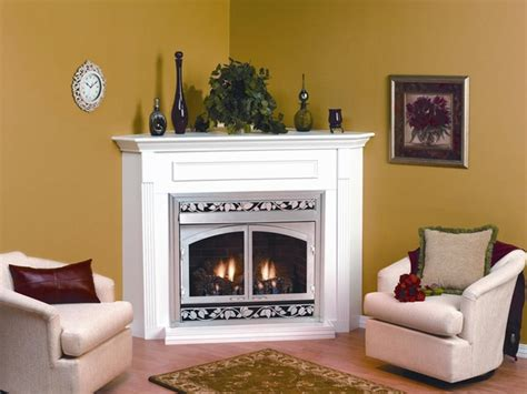 empire embc6sw white corner wooden mantel cabinet with