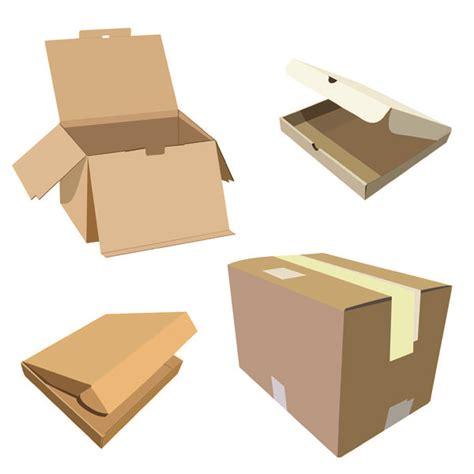 cardboard box layout print vector 2 and carton box template vector free vector 4vector