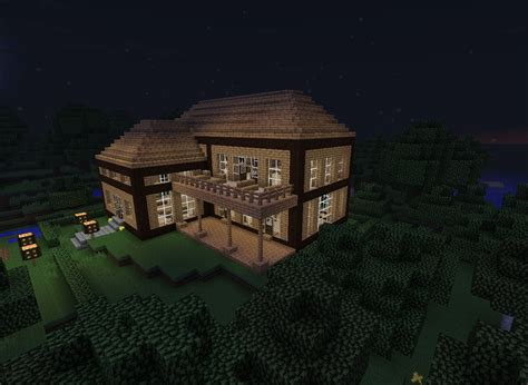 Minecraft Cabin House by Forest Cabin Minecraft Project