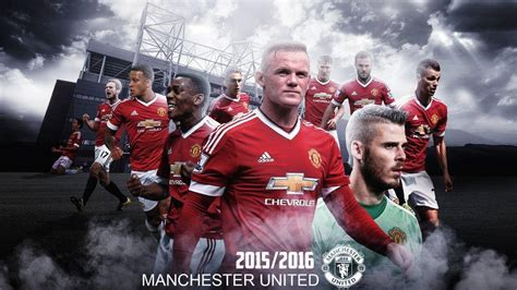 manchester united 2015 2016 team wallpapers logo manchester united 2016 wallpaper cave