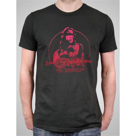 black celebrity t shirts mens conan the barbarian t shirt by local celebrity