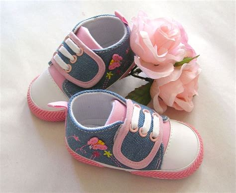Crib Shoes by Baby Baby Boy Infant Toddler Soft Sole Crib Shoes Infant Blue Pink Shoe Ebay