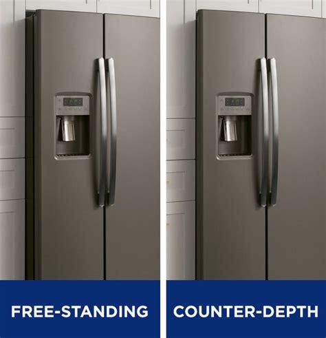 Bar Top Depth by Counter Depth Vs Standard Depth Refrigerator Best