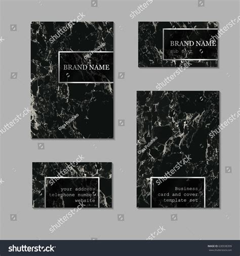 sophisticated business card template business card cover template set sophisticated stock