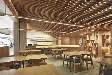 design zen cafe ginshariya restaurant by tsutsumi associates shanghai