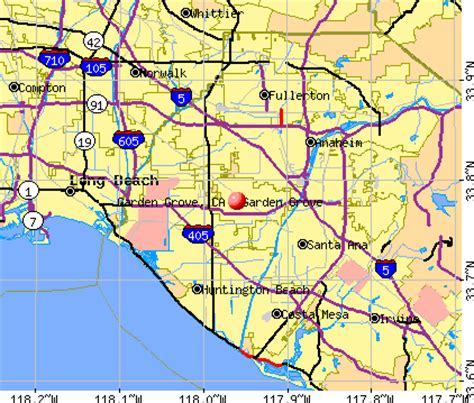 Garden Grove Ca News Garden Grove California Ca Profile Population Maps