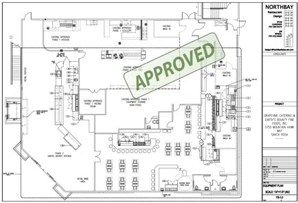 restaurant kitchen floor plan northbay restaurant design we help you get your health department permit approved quickly