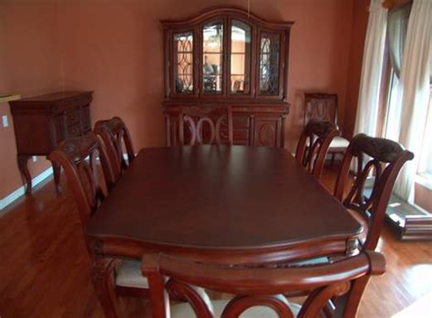 Dining Room Set Cherry Wood Dining Table Cherry Eldesignr