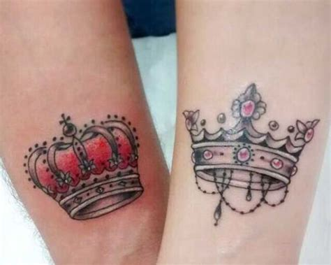 couple tattoos ideas designs 31 crown ideas that fit royalty styleoholic