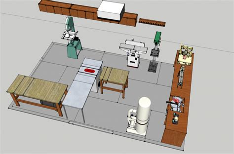 Garage Shop Layout Ideas by Small Workshop People How Big Is Too Big