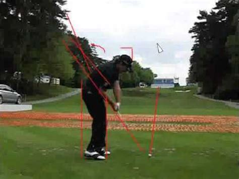 graeme mcdowell swing graeme mcdowell golf swing analysis youtube