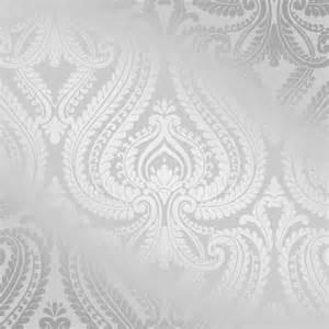 Love wallpaper indulge metallic damask wallpaper soft grey