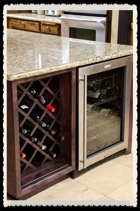 kitchen island with wine rack 23 best images about wine racks on wine black kitchen cabinets and drawers