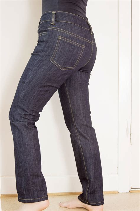sewing pattern skinny jeans anita skinny jeans in dark denim sewing projects