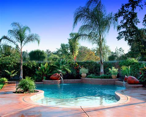 pool landscaping designs tropical landscaping ideas around pool tropical pool