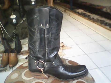 Sepatu Jenggel Wanita Kulit gesunde shoes harley 14022