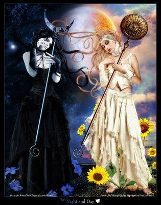 imagenes goticas hadas brujas y demas hadas y duendes bruja blanca 243 bruja negra