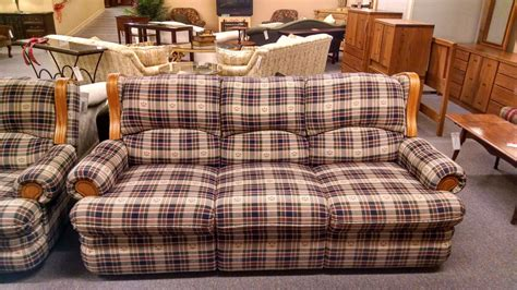 country plaid couches high back loveseats 18 images brandon reclining