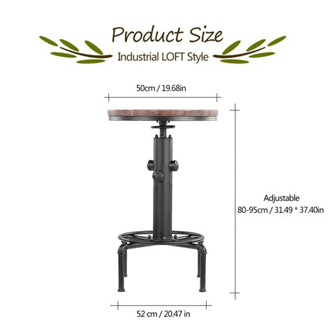 Table En Fer Industriel by Table Ronde En Fer Et Bois Style Industriel D 233 Coindustriel