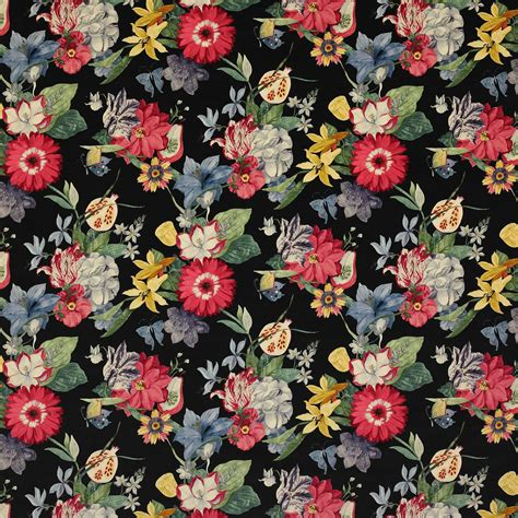 Bien Tissu D Ameublement Design #4: tissu-ameublement-tapisserie-fleurs-ipanema-velours.jpeg