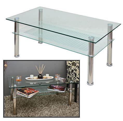 neuer glastisch 109 x 60 cm wohnzimmer tisch 10 mm