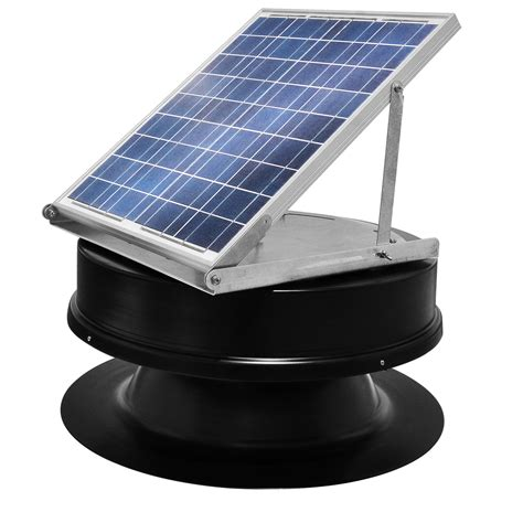 solar powered attic fan made solar powered attic fans solar lighting