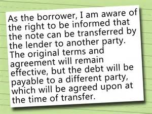 how to write a promissory note with sle promissory notes