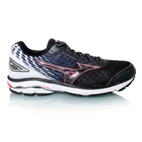 mizuno wave rider womens running shoes mizuno wave rider 19 womens running shoes black pink