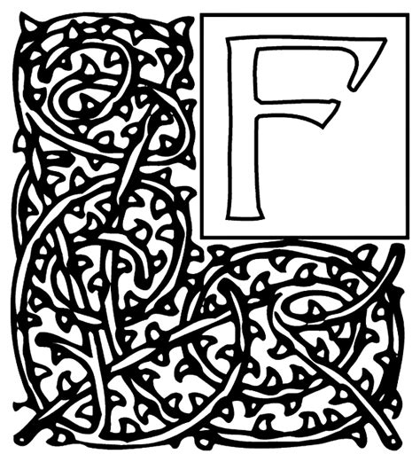 crayola coloring pages letters alphabet garden f crayola co uk