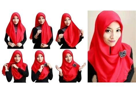 tutorial hijab pashmina simple terkini dengan mudah 5 langkah mudah untuk bergaya dengan tudung bawal squircle