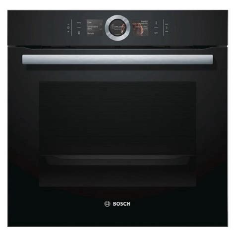 I Klakson Bosch Supertone Black bosch hbg674bb1b single pyrolytic multifunction oven in black