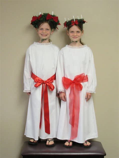 Lucia Dress Gamis Baloteli 1 st lucia costume for includes dress tunic sash