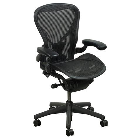 herman miller aeron posturefit  size  task chair carbon national office interiors