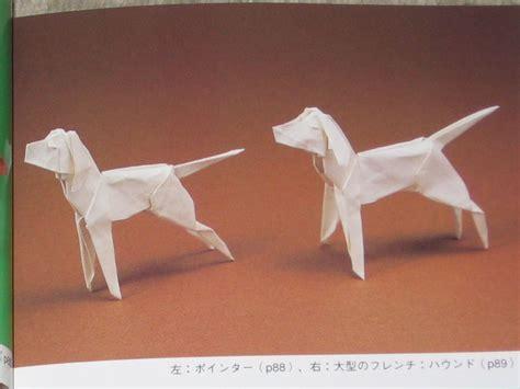 Origami Poodle - origami advanced book poodle retriever collie etc