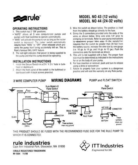 johnson automatic bilge wiring diagram wiring
