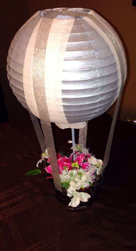 How To Make Paper Lantern Centerpieces - 13 best photos of paper lantern air balloon