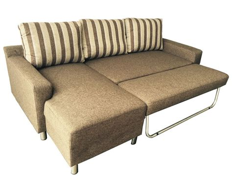 Convertible Sectional Sofas Kacy Fabric Convertible Sectional Sofa Bed Bed Sleeper Chaise Lounge Ebay
