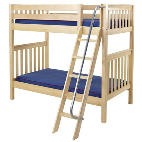 bunk bed slats venti bunk bed in natural with slat bed ends by maxtrix