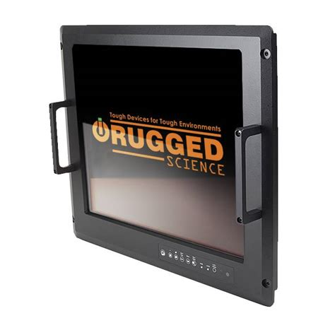 rugged lcd display flat panel lcd displays rugged science rugged industrial computers