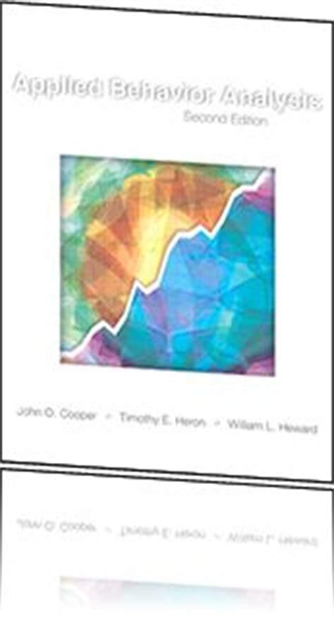 applied behavior analysis 2nd edition study guide for applied behavior analysis 2nd edition
