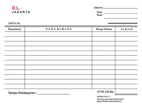 Jual Nota Penjualan   Hoki Printing   Tokopedia