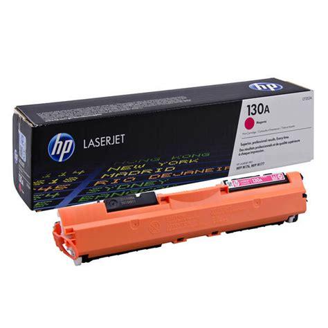 Jual Toner Hp 85a Berkualitas Murah 2 toner hp laserjet 130a magenta cf353a original