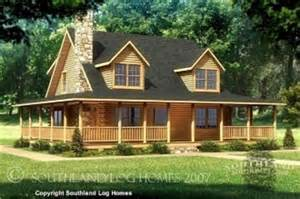 Wrap Around Porch House Plans Small Log Home Plans With Loft Floor Plans For Log Homes