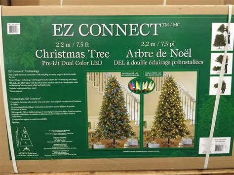 ez connect 9ft christmas tree instuctions costco trees 2014 costco insider