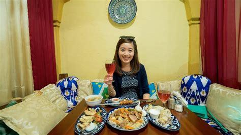 uzbek cuisine youtube silk road choyhona finally found uzbek cuisine