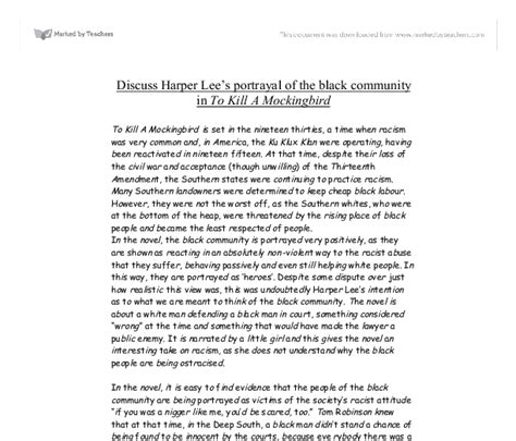 Racism In Disney Research Paper by Racism Essay To Kill A Mockingbird